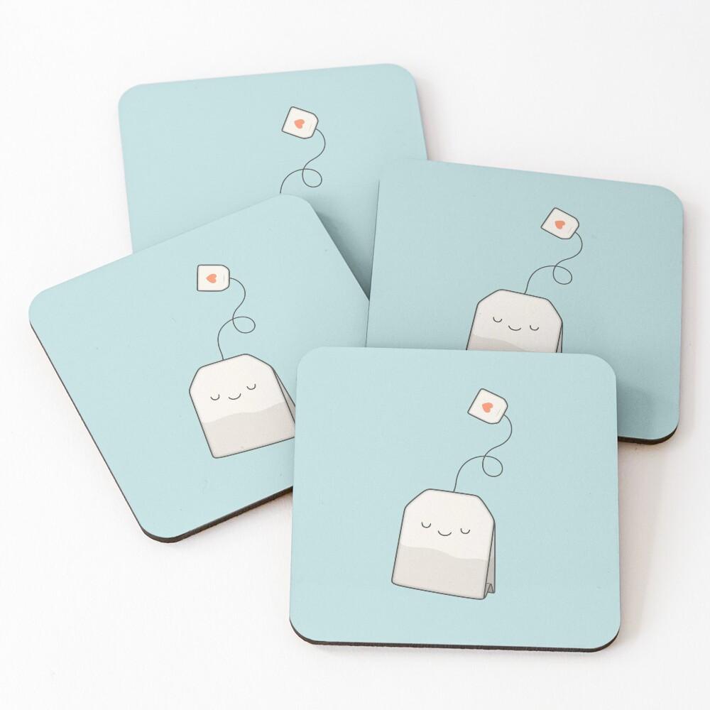Tea time Coasters (Set of 4)