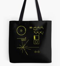 6511b737b24e NASA Voyager Golden Record Tote Bag