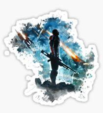 Mass Effect Sticker