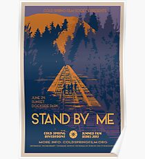 STAND BY ME: Cold Spring Film Society 2017 Season Poster Poster
