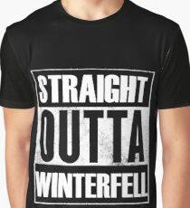 Straight outta Winterfell Graphic T-Shirt