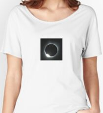 Keywebco zoomed 2017 eclipse  Women's Relaxed Fit T-Shirt