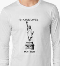 statue lives matter, liberty T-Shirt