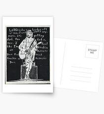 Bob Dylan in Concert Postcards