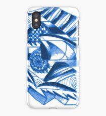 Cool Blue Design iPhone Case/Skin