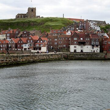 Whitby Harbour Panoramic by tommysphotos