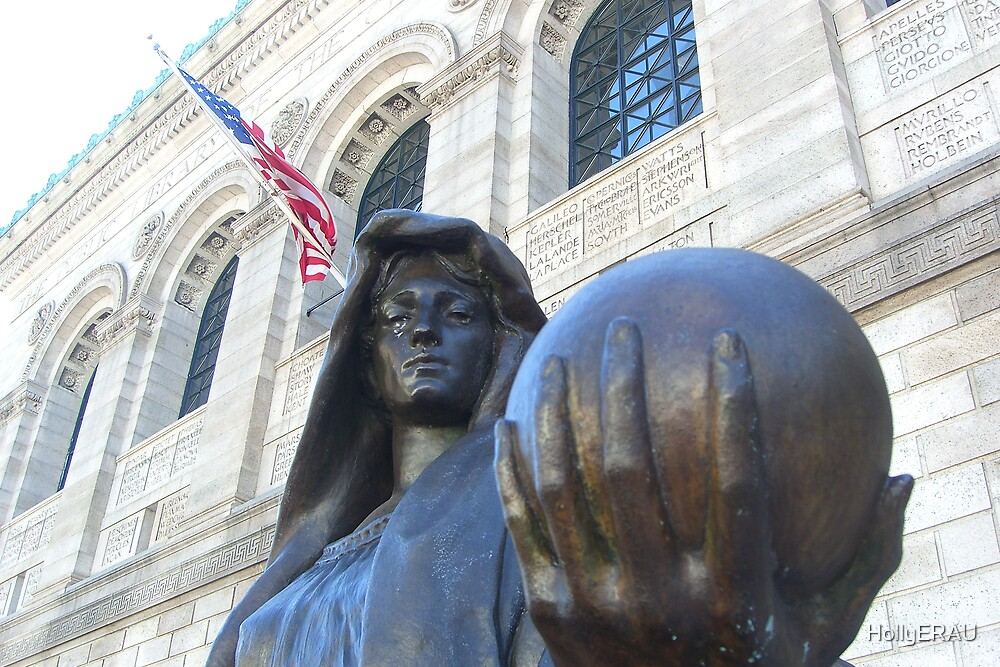 Lady Statue by HollyERAU
