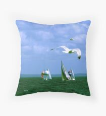 CONGESTION Throw Pillow