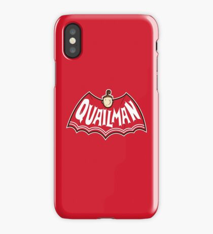 Quailman iPhone Case
