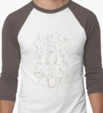 Point and Click Men's Baseball ¾ T-Shirt
