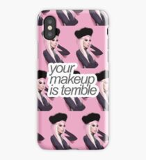 Your Makeup Is Terrible iPhone Case/Skin