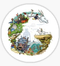 Ghibli Tribute Sticker