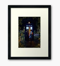 Come With Me. Framed Print