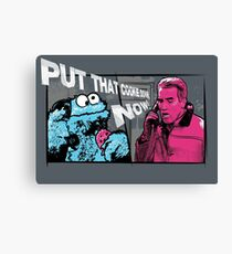 Put that cookie down! Canvas Print