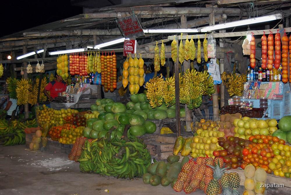 Market - Santo Domingo, Ecuador 2008 by zapatam