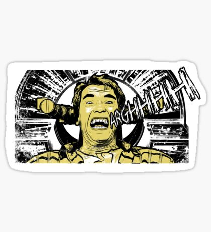 Arghhhh Sticker