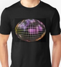 Abstract globe silhouette.Global communication concept. T-Shirt