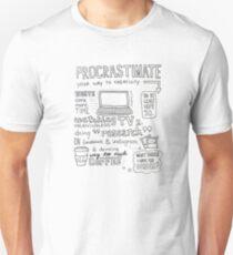 Procrastinate your way to creativity T-Shirt
