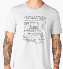 Procrastinate your way to creativity Men's Premium T-Shirt