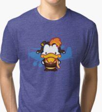 Hello Mcquackie Tri-blend T-Shirt