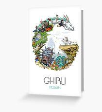 Ghibli Tribute Greeting Card
