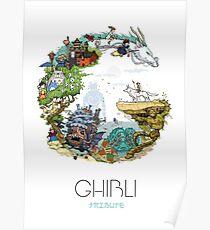Ghibli Tribute Poster