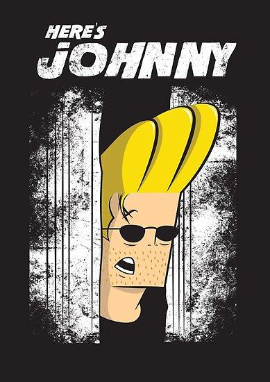 Here's johnny by Scott Weston