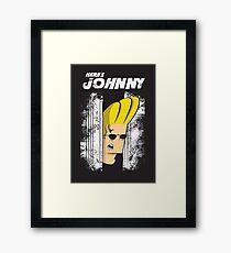 Here's johnny Framed Print