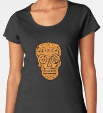 Sugar Skull SF Halloween on blk Women's Premium T-Shirt