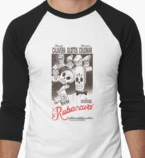 Rubacava (White) Men's Baseball ¾ T-Shirt