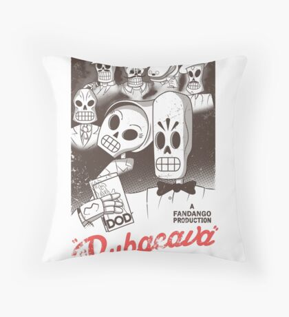 Rubacava (White) Throw Pillow