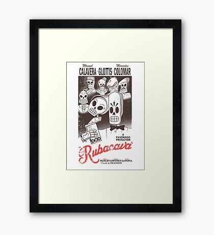 Rubacava (White) Framed Print