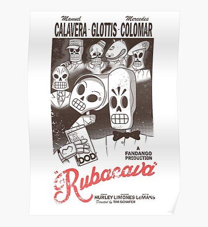Rubacava (White) Poster