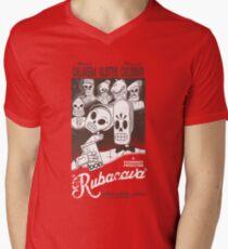 Rubacava Mens V-Neck T-Shirt