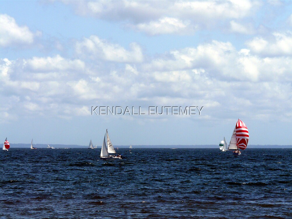 SAILING 2 by KENDALL EUTEMEY