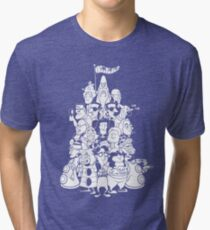 Day at the Mansion Tri-blend T-Shirt