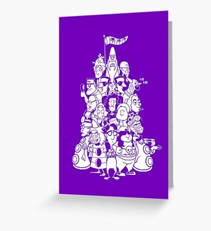 Day at the Mansion Greeting Card