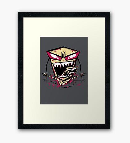 Chest burst of Doom Framed Print