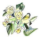 Begonia Plant by Gabriele Maurus