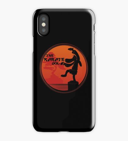 The Karate Dog  iPhone Case