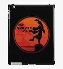 The Karate Dog  iPad Case/Skin