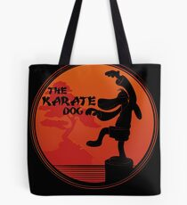 The Karate Dog  Tote Bag