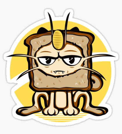 Meowth Breading Sticker