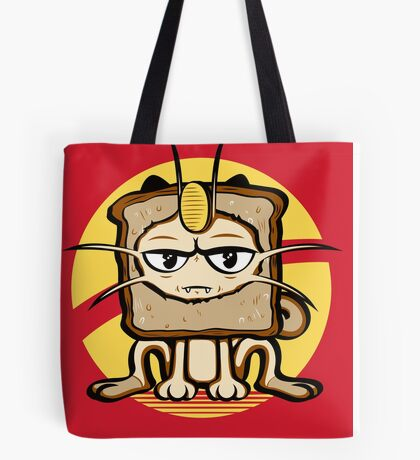 Meowth Breading Tote Bag