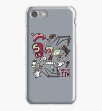 Dress up Zim iPhone Case/Skin