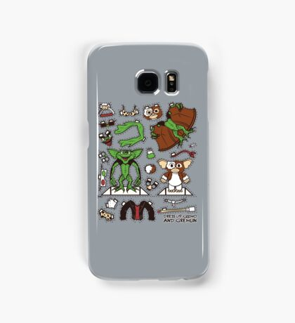 Dress up Gizmo and Gremlin Samsung Galaxy Case/Skin