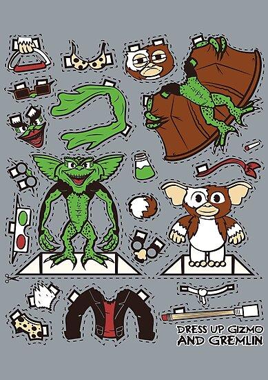 Dress up Gizmo and Gremlin by Scott Weston