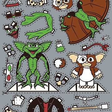 Dress up Gizmo and Gremlin by scoweston