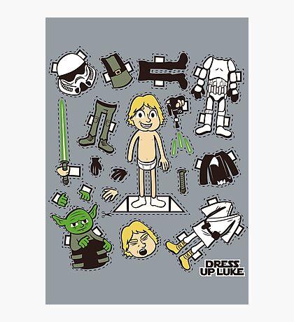 Dress up Luke Photographic Print