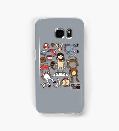 Dress up Mario Samsung Galaxy Case/Skin